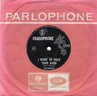 "THE BEATLES ~ I Want To Hold Your Hand ~Original 1963 Australian 7"" vinyl single"