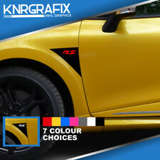 KNR0613 - CLIO RS DOOR RENAULT SPORT STICKER DECAL - CLIO Mk4 IV RS 200 220 GT