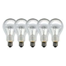 5 x Ampoule 150W TRANSPARENT E27 AMPOULE 150 WATT AMPOULES AMPOULES ampoules