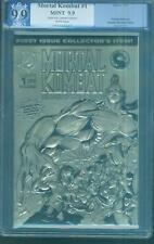 Mortal Kombat 1 Blood Thunder PGX CGC 9.9 Gold Foil up 9.8 Rare Limited Ed 1994