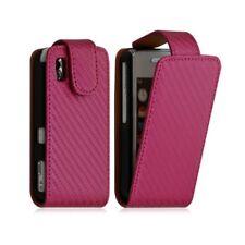 Housse coque etui pour Samsung Player One S5230 Motif Gaufre couleur rose