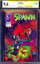 Spawn #1 CGC 9.6 SS Todd McFarlane 1st appearance Spawn Movie Brand New Case NM