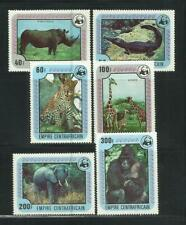 REP. CENTROAFRICANA. Año: 1978. Tema: FAUNA WWF.