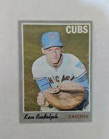 1970 Topps Ken Rudolph #46 Baseball Card -  Chicago Cubs