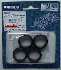 Neumáticos Kyosho MiniZ AWD drift 11mm anchos (4 Uds.) MDT002