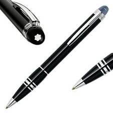 Authentic M0ntblanc Starwalker Midnight Black Resin Ballpoint Pen 105657