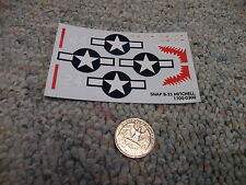 Revell Monogram decals 1/72 snap-tite B-25 Mitchell  M3