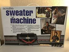 Bond Incredible Sweater Machine Vintage Knitting Afghans New with Instructions