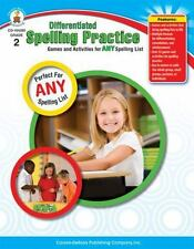 Differentiated Spelling Practice : Games and Activities for Any Spelling List b…