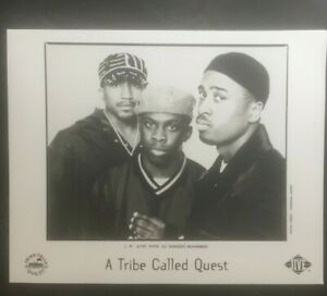 """A Tribe Called Quest """"Beats Rhymes and Life"""" promo photo press kit"""