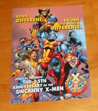X-Men Born Different Postcard Original Promo 6x4