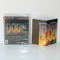 DOOM 3 - BFG EDITION - SONY PLAYSTATION 3 PS3 GAME - NEW & SEALED - WITH POSTER!