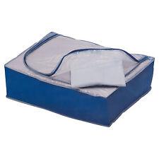 Pequeño bajo la ropa de cama de ropa de cama, Organizador De Bolso Caja de fácil acceso zip Edredón Almohadas