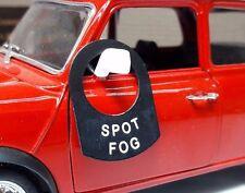 Classic Car Kit IVA SVA Lucas Truck Toggle Switch Tab Badge Spot Fog Lights Lamp