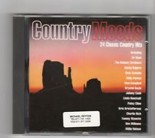 (HW395) Country Moods, 24 Classic Country Hits - 1992 CD