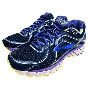 Brooks GTS 16 Women's Running Shoes 1202031D506 Purple/Green Size 9.5 US Wide D
