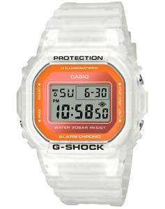Casio G-Shock Semi-Transparent DW5600LS-7 2020 Digital Fluorescent Colors