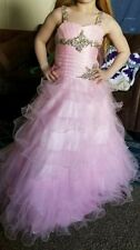 Girl's Pink Tiffany Pageant dress size 6