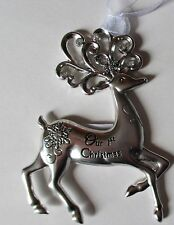 Bd Our 1st Christmas Merry Reindeer Ornament Ganz Newlywed bridal shower gift