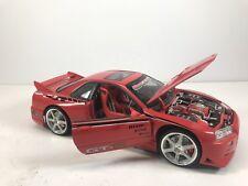 RARE Nissan Skyline GTR Muscle Machines 1/18 Scale Model Diecast Display Nismo