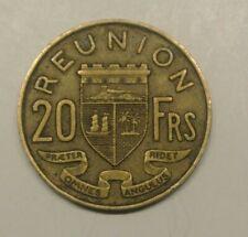 REUNION  20 FRANCS  1955  a saisir !