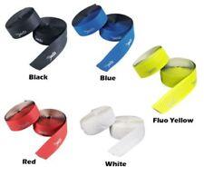 Puños y cintas rojas de aluminio para manillar de bicicletas
