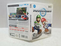 MARIO KART WII CASE ONLY NO GAME OR MANUAL