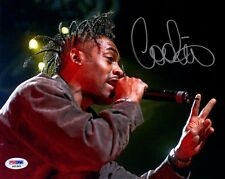 COOLIO SIGNED AUTOGRAPHED 8x10 PHOTO GANGSTA'S PARADISE PSA/DNA