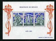 1982 MONACO BLOC N°23 DENTELE NOEL xx