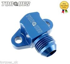 Suzuki GSXR Engine To Oil Cooler 90 Degree Take Off Adapter In AN -8 (AN8)