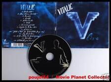 """VITALIC """"Live"""" (CD Digipack) Electro 2007"""