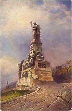 Rüdesheim, Niederwalddenkmal, Künstler-AK, um 1910