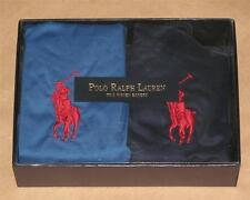 Polo Ralph Lauren Size S 28-30 2-Pack Boxers 97% Cotton 3% Spandex Solid Blue