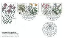 Germany 1983 FDC 1188-91g Kwiaty Blumen Flowers