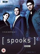 Spooks - Series 4 - Complete (DVD, 2006, 5-Disc Set, Box Set)