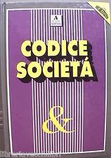 CODICE SOCIETA Edizioni The Best Guide 1991 Giuridica Diritto Manuale Privato di