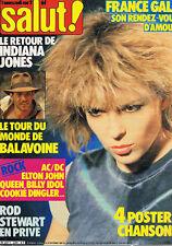 Salut 234 France Gall Daniel Balavoine Queen ACDC Cookie Dingler Rod Stewart