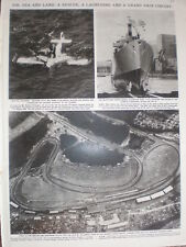 Photo article aerial view Brands Hatch formula one Grand Prix circuit 1964