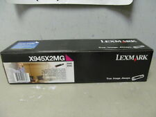 LEXMARK X940 X945 GENUINE HIGH YIELD MAGENTA TONER CARTRIDGE NEW SEALED X945X2MG