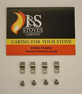 Town & Country Stoves Glass Clips & Screws