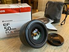 Canon EF 50mm f/1.2L Prime