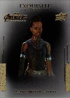 Marvel Avengers Endgame Exquisite Collection Black Achievement #1 Letitia Wright