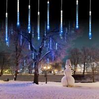 50CM LED Lights Meteor Shower Rain 8 Tube Tree Light Christmas Xmas Decorations