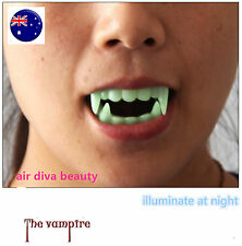 Night Luminous Halloween Costume Party Zombie Vampire Wolf Fangs Tooth Prop F003