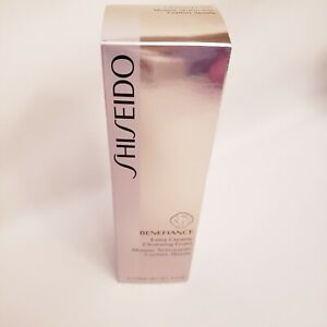 Shiseido Benefiance Extra Creamy Cleansing Foam - 4.4 oz 125 ml Gold Seal
