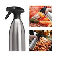 1X(Olive Oil Sprayer Vinegar Sprayer Dispenser Stainless Steel Bottle-perf D3E2