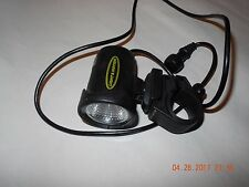Light In Motion Arc LiIon HID bicycle offroad headlight system