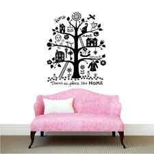 There's no Place Like Home Wall Stickers Tree Decals Room Removable Living room