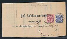 94795) Brandenburg > Sorau > Post - ZU K1 LAUBNITZ 1899 MiF Krone/Adler