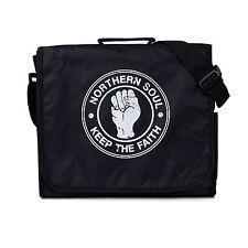 Northern Soul Messenger Bag Mods DJ Shoulder Record School College Cross Body